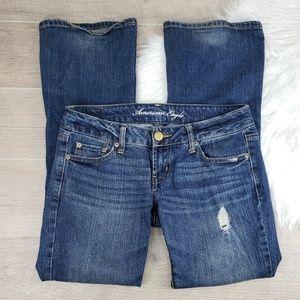 American Eagle Jeans 4 Short Stretch Boyfriend